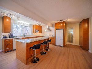 Fort Saskatchewan kitchen with quartz counter tops